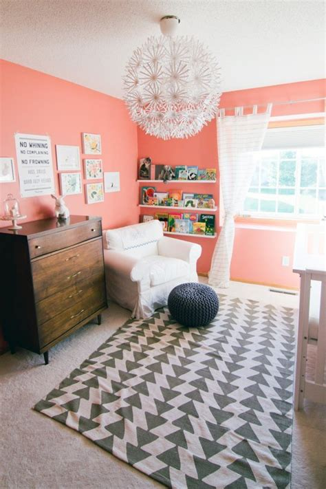 coral color room 2015 paint trends decorating with coral