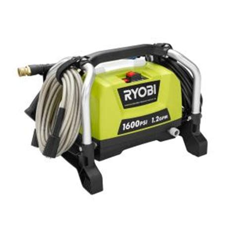 Pressure Washer Hose Home Depot by Ryobi Reconditioned 1600 Psi 1 2 Gpm Electric Pressure
