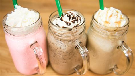 make a starbucks frappuccino cotton frappuccino