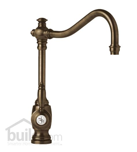 antique brass kitchen faucets faucet 4200 dab in distressed antique brass by