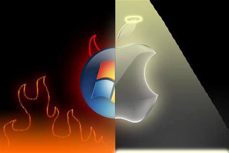 wallpaper apple vs windows apple vs windows wallpaper www imgarcade com online
