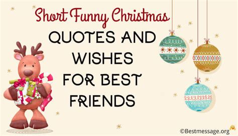 short funny christmas wishes   friends witty holiday messages