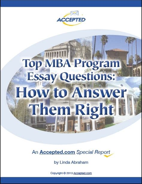 Leadership Mba Questions by Mba Special Reports