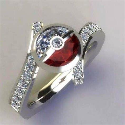 The Best Pokeball Engagement Ring   Pokeballs for Sale