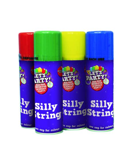Silly String - silly string decorations and fancy dress costumes vegaoo