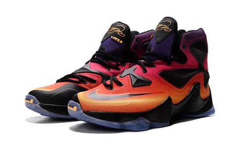 new lebrons basketball shoes new nike lebron 13 charity yellow mens sneaker basketball