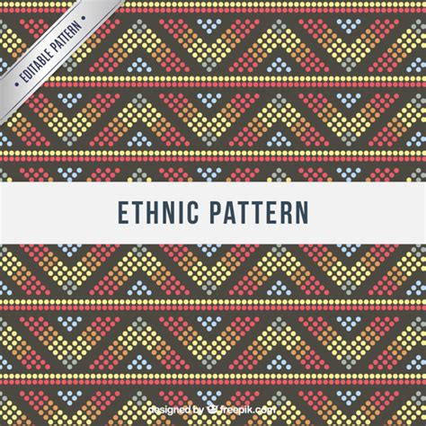 ethnic pattern vector free download colorful ethnic pattern vector free download