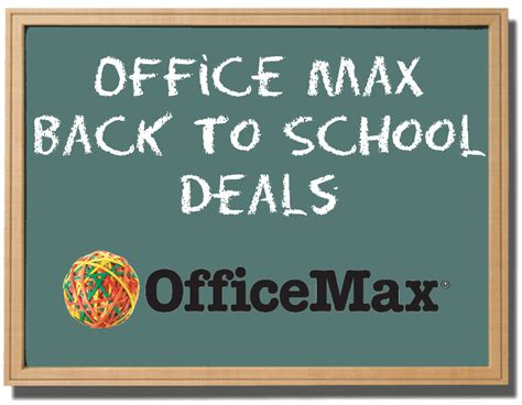 office max back to school deals starting 07 21 acadiana