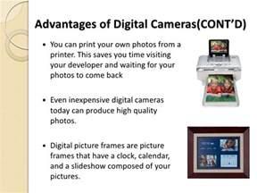 Benefits Of Digital Cameras by Digital Technology