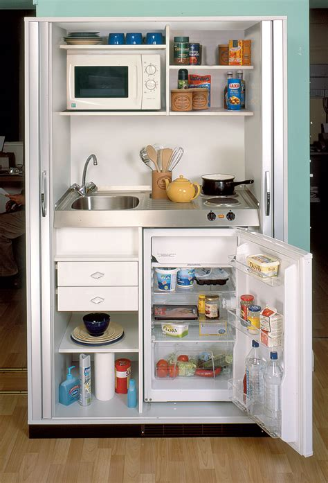 Armoire In Kitchen by Complete Mini Kitchens