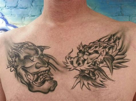 chest tattoo vimeo witches of east end promo faux tattoo studios