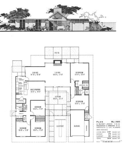 Eichler Home Floor Plans 1000 Images About Eichler Floor Plans On
