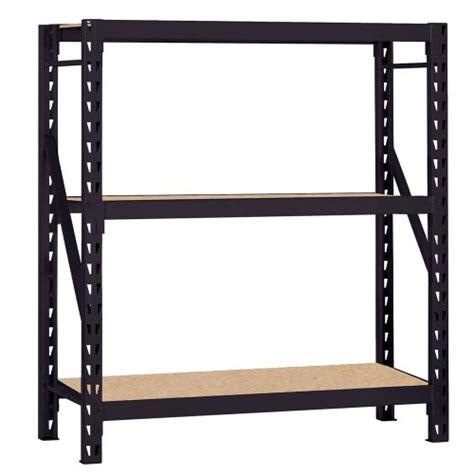 Edsal 3 Shelf Industrial Storage Rack edsal rack heavy duty steel bulk storage rack with