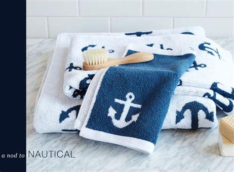 Nautical Towels Bathroom - a nod to nautical nautical bath nautical and towels