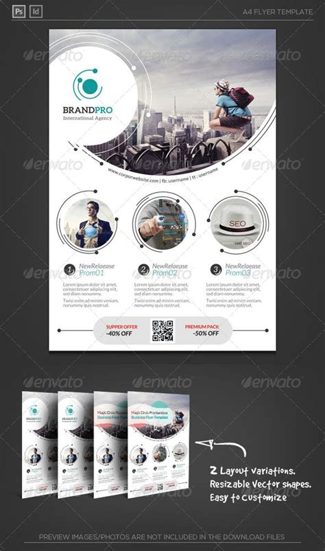 Magic Circle Ii Corporate Flyer Magic Circle Flyer Template And Photography Studios Ii Flyer Template