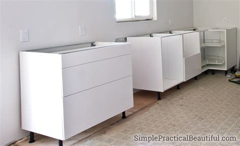 Ikea Kitchen Base Cabinets by How To Assemble An Ikea Sektion Base Cabinet Simple