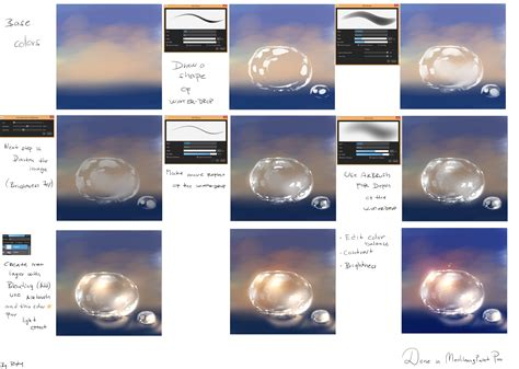 construct 2 water tutorial ryky s easy water drop tutorial medibang paint