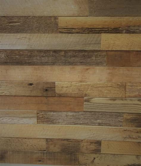 DIY Reclaimed Wood Accent Wall Brown Natural 2 Inch Wide