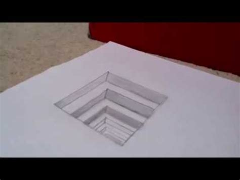 How To Make Optical Illusions On Paper - optical illusion drawing