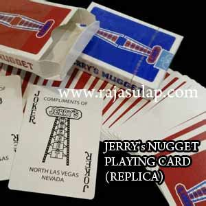 Kartu Remi Sulap Forma Cards Cardistry jerry s nugget deck replica