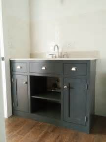 white simple gray bath vanity diy projects