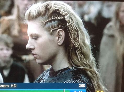 vikings lagertha hair left side of lagertha s hair hair pinterest lagertha