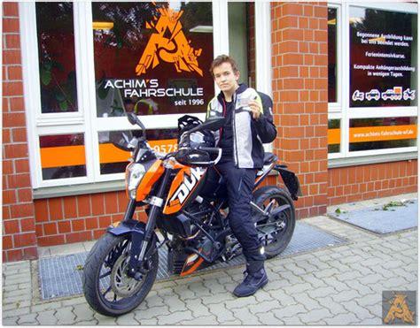 Motorrad F Hrerschein Bestanden by F 252 Hrerschein Bestanden Achim S Fahrschule