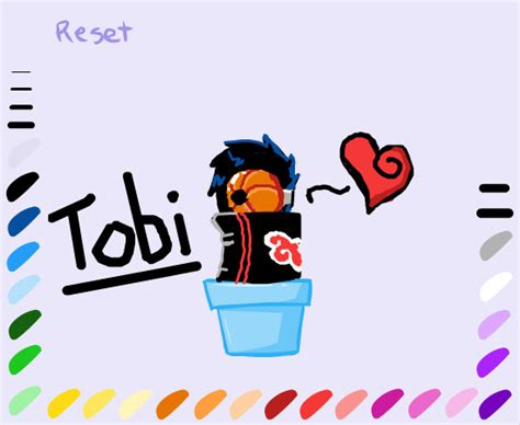 Topi Shoot Me tobi is a plant by the kitsune on deviantart