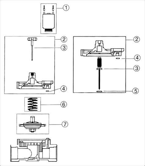 sprinkler valve diagram irritrol r719901 bonnet assembly for irritrol richdel