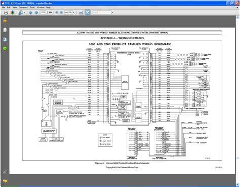 wiring diagram allison 1000 transmission alexiustoday