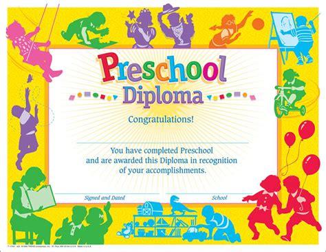 preschool certificate templates 9 best images of printable preschool certificates and