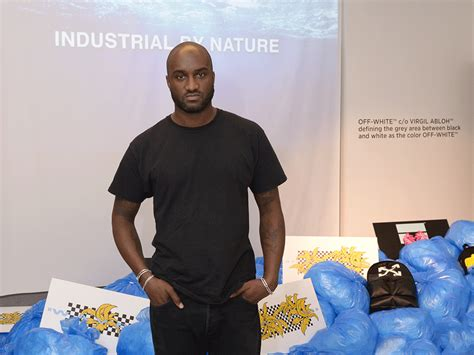 Virgil Abloh Virgil Abloh On His New Collaboration With Saks And How