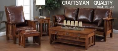 craftsman living room furniture appealing mission style