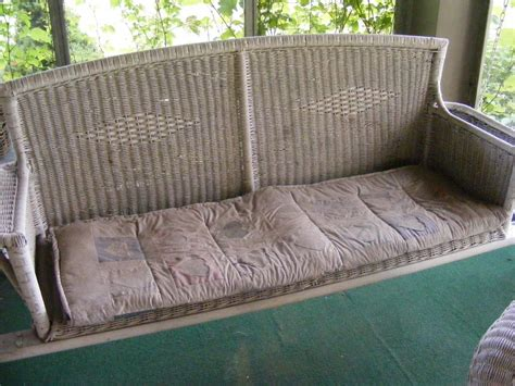 antique wicker porch swing patrick ball auctions swonger brown antique auction sat