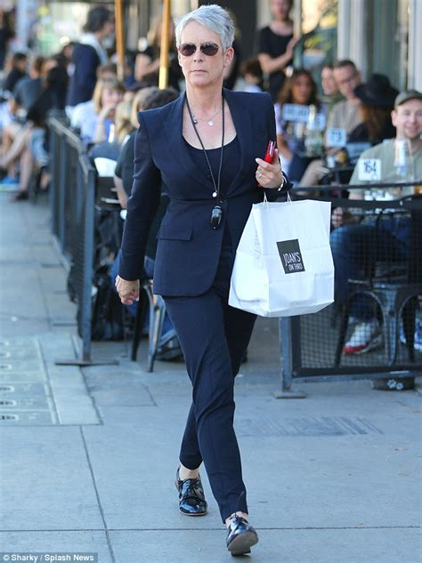 jamie lee curtis necklace jamie lee curtis fabulous at 56 as she leaves a cafe with