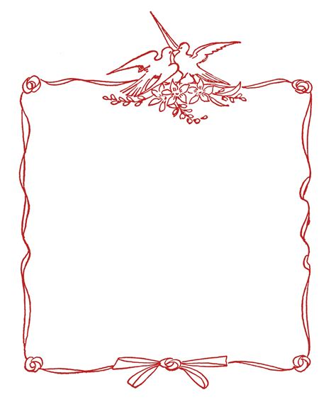 Wedding Graphic by Wedding Graphic Frames With Doves The Graphics