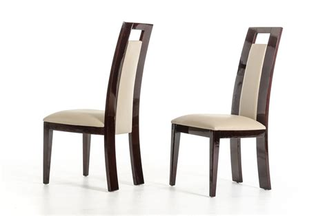 And Doug Chair by Douglas Modern And Taupe Dining Chair Set Of 2