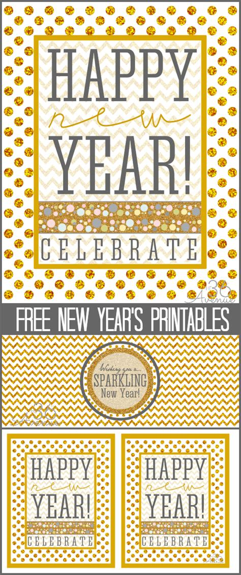 new year pictures to print new years free printable the 36th avenue