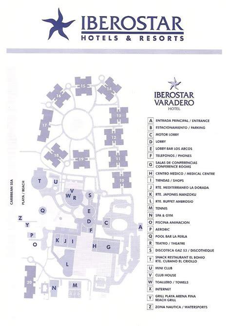 iberostar resort map iberostar varadero hotel varadero detailed info images