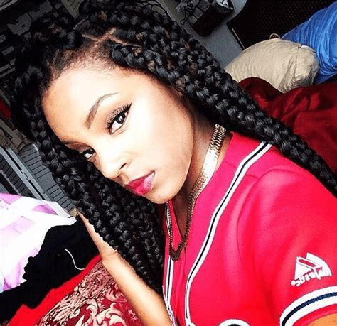 Big Braids Hairstyles by Poetic Justice Braids Styles How To Do Styling Pictures