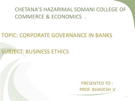 Mba Research Topics On Corporate Governance by Corporate Governance