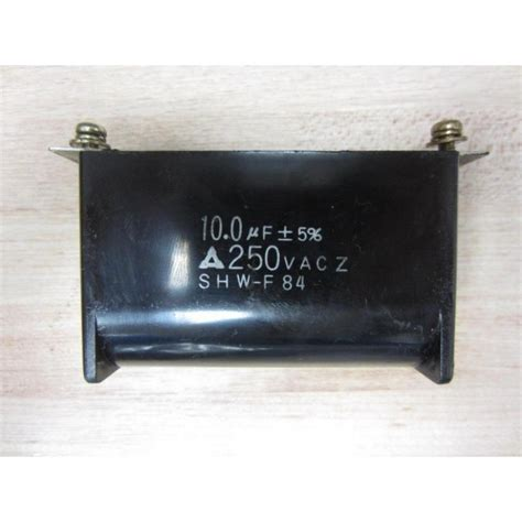 a 10 0 uf capacitor is charged by a 10 0 v battery shw f capacitor 10 0 uf 5 250 vac used mara industrial