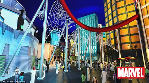theme park hero the world s largest indoor theme park to open in dubai