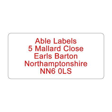 address label colour text standard address label a4 sheets able labels