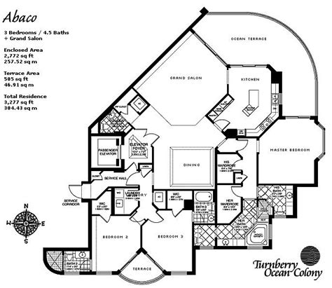 turnberry ocean colony floor plans turnberry ocean colony north brg international