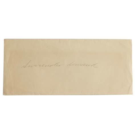 Demand Letter German World War Ii Demand Letter Witherell S Auction House