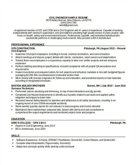 civil engineering resume format in pdf civil engineer resume template brianhans me