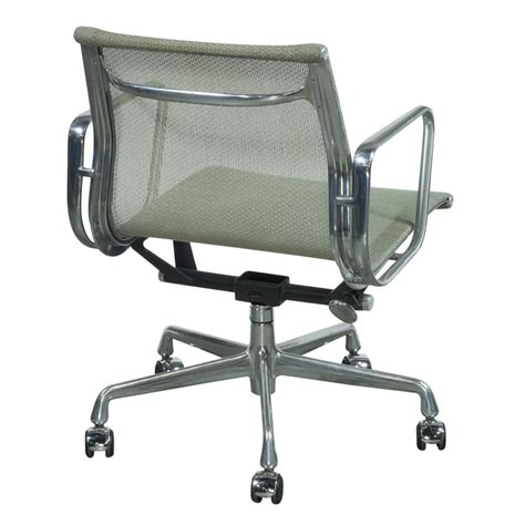 eames management chair used herman miller eames used mesh aluminum management
