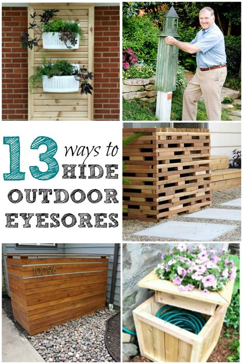 Landscape Ideas To Hide Air Conditioner Unit Add Curb Appeal With These Easy Ways To Hide Outdoor