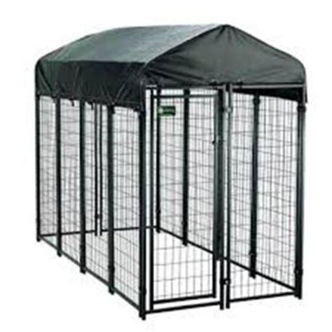 4 ft x 8 ft x 6 ft welded wire fence kennel kit